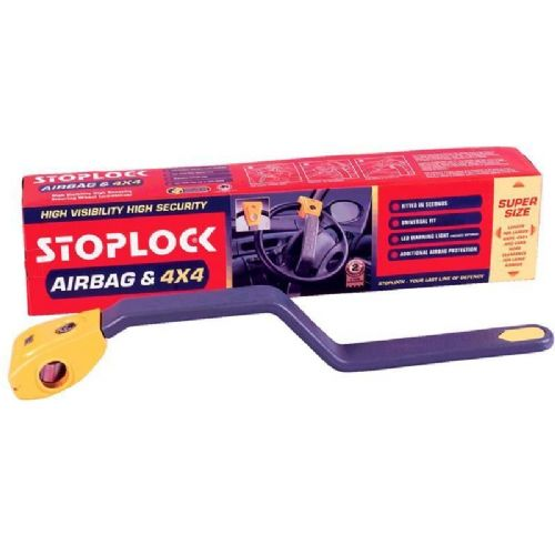 Stoplock Airbag & 4x4 Large Steering Wheel Lock
